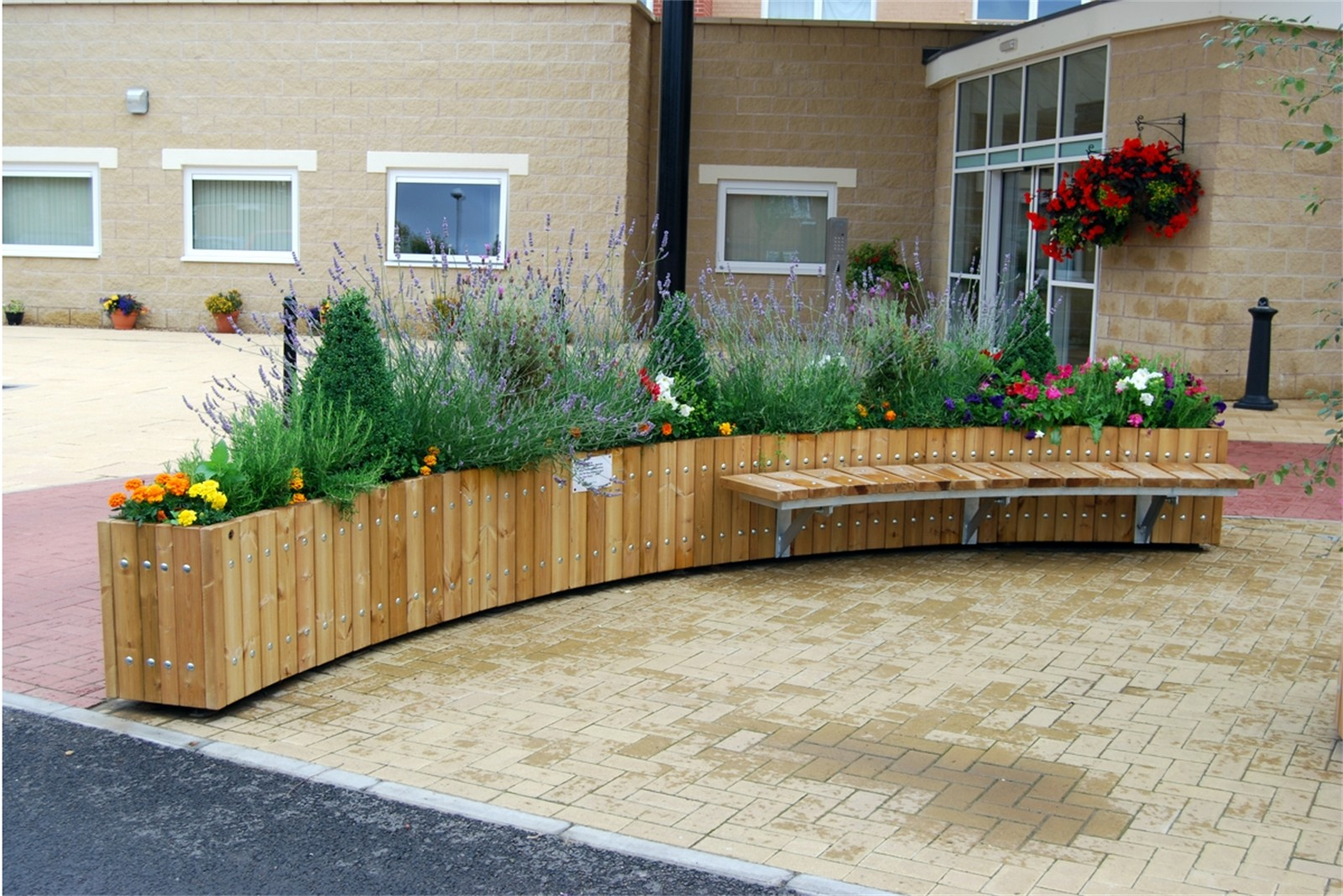 Large Swithland Planters Street Design