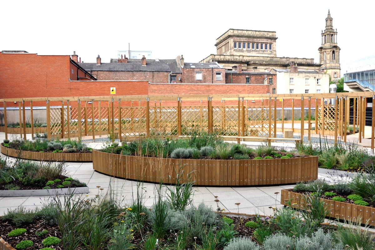 Empire House Preston Project Page Planters Seating For