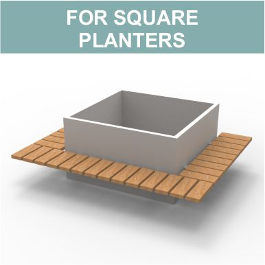 Admirable Spalding Planter Benches By Street Design Andrewgaddart Wooden Chair Designs For Living Room Andrewgaddartcom