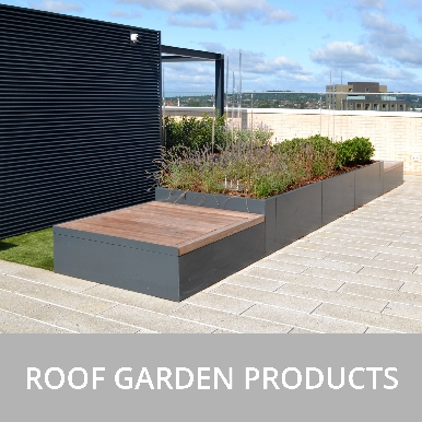 Street Design Roof Garden Products